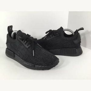 Pitch black Adidas NMD friend and family edition